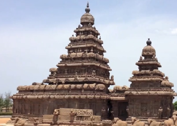 The Shore Temple Mahabalipuram